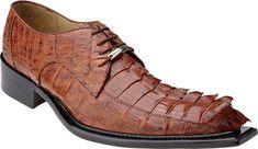 Belvedere - Zeno (Men's) - Antique Cognac Hornback from Yvonne's #shoes