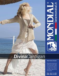 Divina – Cardigan | Knitting Fever Yarns & Euro Yarns