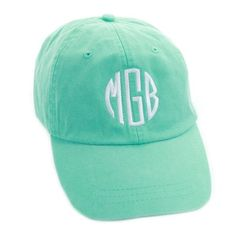 26f2930639939 All the ladies look gorgeous and comfortable in our Stonewash Monogrammed Baseball  Caps. They are