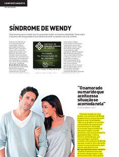 Matéria da Revista AT do Jornal A Tribuna de Santos sobre Síndrome de Wendy. Boa leitura !
