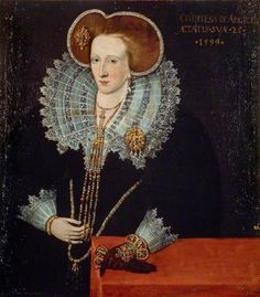 Lady Agnes Douglas (c.1574–1607), Countess of Argyll, Wife of the 7th Earl of Argyll   by Adrian Vanson (attributed to)  National Galleries of Scotland   Date painted: 1599