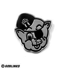 Pork Magazine Pin