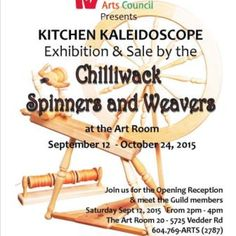 Spinners & Weavers exhibit and sale poster.web