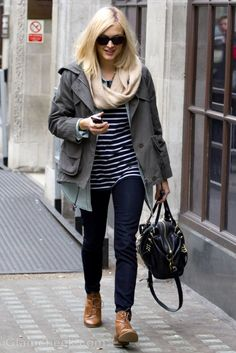 Love Fearne Cotton's funky, chilled and relaxed wardrobe.