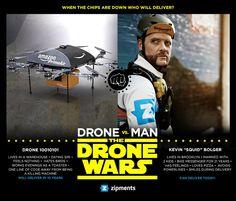 Bike Messengers Vs. 'Delivery Drones'