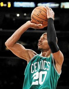 Ray Allen. Heartbreaking move, but will always be a Celtic.