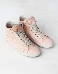 :PINKED PLIMSOLL BOOTS