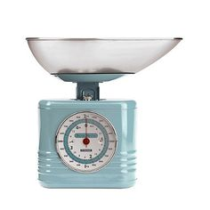 Typhoon® Vintage Kitchen Scales – Blue  - from Lakeland