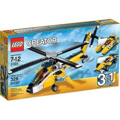 Đồ chơi LEGO 31023 Yellow Racers – Những tay đua vàng