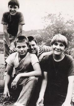 """Friends come in and out of our lives like busboys in a restaurant""  -Stand By Me"