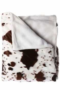 Fleece Throw Dog Scottie Pattern White Blanket Roll 120x150cm Pink Or Brown Comfortable Feel Home & Garden