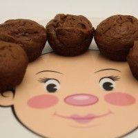 Flourless Fudgy Brownie Bites, grain-free, dairy-free