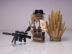 Border Patrol Custom Minifigure