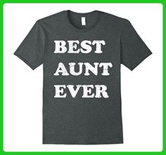ee3a8168 Mens Best Aunt Ever Funny Cute Gift T Shirt Retro Vintage Style XL Dark  Heather -