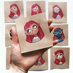 Art Drawings Sketches, Cartoon Drawings, Cute Drawings, Character Drawing, Character Illustration, Illustration Art, Arte Sketchbook, Poses References, Marker Art