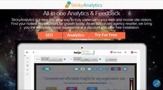 #stickyAnalytics is the leading analytics platform that gives you more than just powerful analytics with complete Hotjar experience at a discount and offer free installation https://stickyanalytics.com/