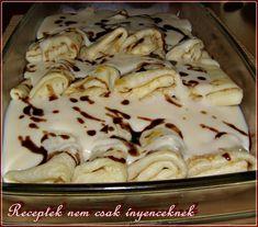 My Recipes, Cookie Recipes, Dessert Recipes, Favorite Recipes, Hungarian Cuisine, Hungarian Recipes, Sweet Desserts, Winter Food, No Bake Cake