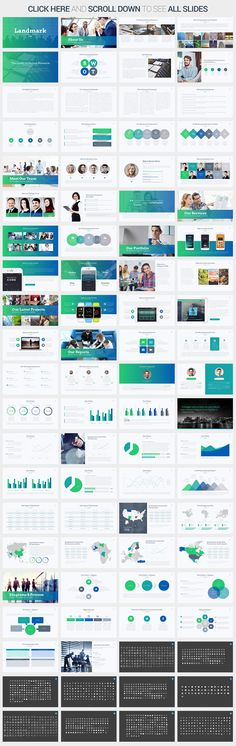 Landmark PowerPoint Template by SlidePro on Creative Market