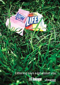 O que o lixo que você joga na rua diz sobre você