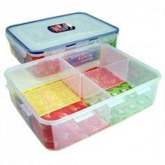 Lock Lock Seasoning Case 7pc Set Food Storage Containers Sugar Salt