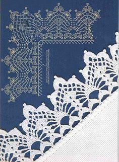 Luty Artes Crochet: Barrados em Crochê + Gráficos. Mais