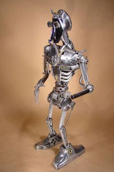 art sculptures made from recycled materials | Welded sculptures made from recycled materials by Brian Mock