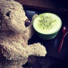 Yummy matcha tea   @originallyflawed  . #iwishiwereinjapan #matcha #matchatea#greenismyfavoritecolor # # #yummymatcha #plushiesofinstagram #kuscheltierliebe #dogsofberlin #hundeleben #berlinstyle #smartdeliberlin #lovelaughlobilat