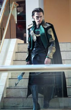 Loki Cosplay - The Avengers by *Aicosu on deviantART I can imagine this is what younger Loki looked like.