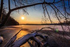 #beautiful #berlin #blue #brandenburg #cold #dusk #frozen #frozen lake #ice #lake #landscape #mood #nature #sky #snow #trees #winter #wintry
