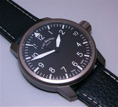 Paul Gerber Model 42 Pilot watch