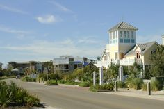 """Seaside, Florida. We stayed at this house for part of our honeymoon. """"Four the Sisters"""" Seaside, Fl. :)"""