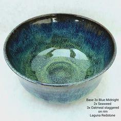Glazes For Pottery, Ceramic Pottery, Ceramic Glaze Recipes, Amaco Glazes, Glazing Techniques, Ceramics Ideas, Middle School Art, Pottery Studio, Pottery Ideas