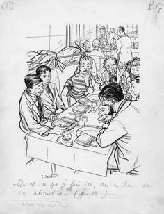"""Illustration pour le Signe de piste """"La Frontière"""" de 1956"""