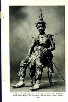 The King  - Camnbodia & The Khmers