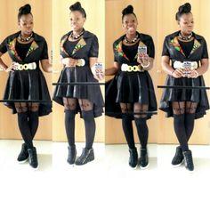 Ankara high low skirt @kbdinsta | Kool Stuff | Pinterest | High ...