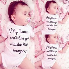 My Mama Don't Like You onesie