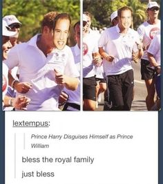 My country's royal family, everyone