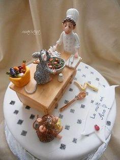 ratatouille cake! | Amazing Cakes