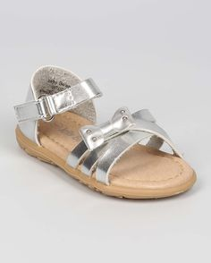 New-Girl-Jelly-Beans-Witty-Metallic-PU-Open-Toe-Studded-Bow-Ankle-Strap-Sandal
