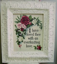 Everlasting Love - Everlasting Love Romantic Print ( Giclee ) by Mary Kay Crowley from Cottages and Gardens