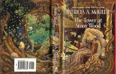 Cover art for The Tower at Stony Wood, Kinuko Y. Craft illustrator