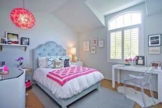 Nowadays teenager girl are more fashionable. Here are 45 trendy pictures of teenage girl bedrooms design ideas
