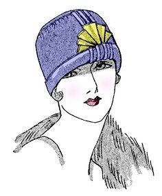 Create a 20s Flapper Cloche' hat The Great Gatsby by RumbleSeatCat, $2.25