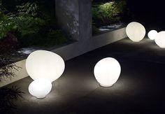 Lampada da pavimento / moderna / da esterno / da giardino GREGG by Ludovica & Roberto Palomba FOSCARINI