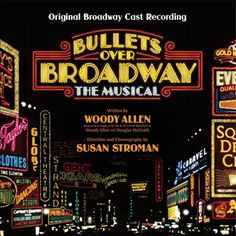 Based on the 1994 Woody Allen film Bullets Over Broadway, which tells the story of a young playwright whose Broadway debut is financed by a gangster, Bullets Over Broadway: The Musical was turned into a musical period piece for the stage and opened in 2014.