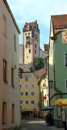 Füssen Altstadt, Bavaria, Germany