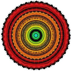 Eu vejo você  #entrama #arte #mandala #ciclo #cores