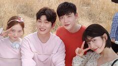 Lee jong suk ❤❤ while you were sleeping drama ^^ Lee Jong Suk, Jung Suk, Lee Sung Kyung, Lee Jung, Asian Actors, Korean Actors, Korean Dramas, Weightlifting Fairy Kim Bok Joo Fanart, Kyun Sang