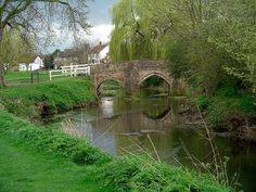 Alconbury England | Description Humpbacked Bridge, Alconbury (96462376).jpg