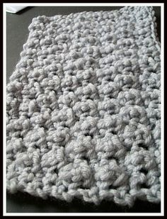 Free Crochet Patterns for the Beginner and the Advanced: Offset Cobble Stitch